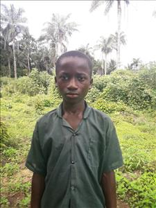 Jusufa, aged 11, from Sierra Leone, is hoping for a World Vision sponsor