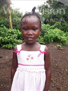 Choose a child to sponsor, like this little girl from Tegloma, Hawa age 5