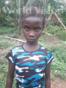 Choose a child to sponsor, like this little girl from Tegloma, Moyiatu age 11
