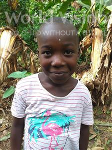 Abu, aged 6, from Sierra Leone, is hoping for a World Vision sponsor