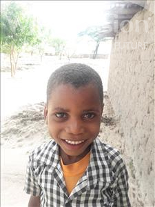 Choose a child to sponsor, like this little boy from Kilimatinde, David Joseph age 6