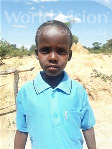 Choose a child to sponsor, like this little boy from Kilimatinde, Obed Daud age 7