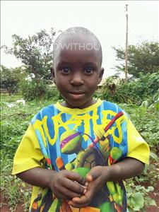 Choose a child to sponsor, like this little boy from Kibiga-Mulagi (Kimu), Henry age 5