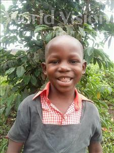 Choose a child to sponsor, like this little boy from Kibiga-Mulagi (Kimu), Godfrey age 6