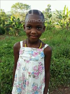 Choose a child to sponsor, like this little girl from Kibiga-Mulagi (Kimu), Nimiria age 8