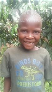 Choose a child to sponsor, like this little boy from Kibiga-Mulagi (Kimu), Allan age 5