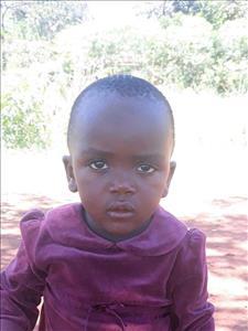 Makalline, aged 1, from Uganda, is hoping for a World Vision sponsor