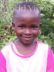 Choose a child to sponsor, like this little girl from Busitema, Jamira age 5