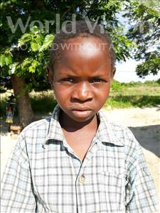 Choose a child to sponsor, like this little boy from Keembe, Sailas age 11