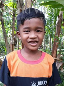 Choose a child to sponsor, like this little boy from Soutr Nikom, Ratanak age 9