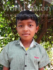 Choose a child to sponsor, like this little boy from Soutr Nikom, Phanna age 9