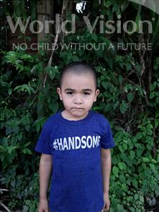 Choose a child to sponsor, like this little boy from Maya, Jostin age 4