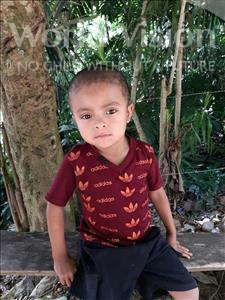 Jose Santiago, aged 4, from Honduras, is hoping for a World Vision sponsor