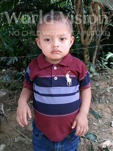 Choose a child to sponsor, like this little boy from Maya, Jose Danilo age 2