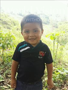 Choose a child to sponsor, like this little boy from Maya, Deymer Eduardo age 4