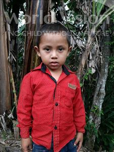 Choose a child to sponsor, like this little boy from Maya, Kevin Samuel age 4