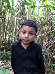 Choose a child to sponsor, like this little boy from Maya, Jose Daniel age 7