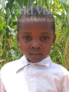 Choose a child to sponsor, like this little boy from Namaita, Adriano Saide Joao age 6