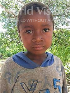 Choose a child to sponsor, like this little boy from Pheone, Riquito Afonso age 6