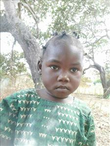 Choose a child to sponsor, like this little girl from Pheone, Naira Feliciano age 3
