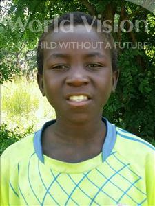 Choose a child to sponsor, like this little boy from Thundu, Tiyamike age 8