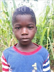 Kingsley, aged 8, from Malawi, is hoping for a World Vision sponsor