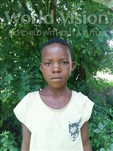 Choose a child to sponsor, like this little girl from Thundu, Efelo age 8