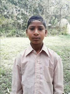 Choose a child to sponsor, like this little boy from Sarlahi, Najrul Reja age 8