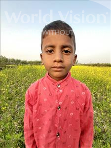 Choose a child to sponsor, like this little boy from Sarlahi, Raja Husan age 8