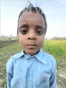 Choose a child to sponsor, like this little boy from Sarlahi, Digambar age 4