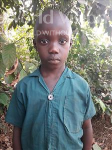 Choose a child to sponsor, like this little boy from Tegloma, Ishmeal age 6