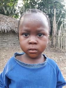 Ansumana, aged 4, from Sierra Leone, is hoping for a World Vision sponsor