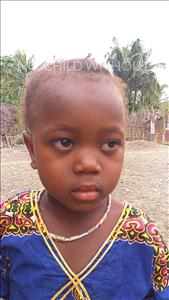 Choose a child to sponsor, like this little girl from Jaiama Bongor, Isatu age 4