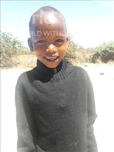 Choose a child to sponsor, like this little boy from Kilimatinde, Rama Kangaga age 7