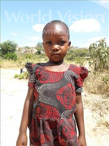 Anastasia Stephano, aged 7, from Tanzania, is hoping for a World Vision sponsor