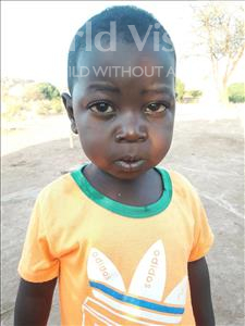 Choose a child to sponsor, like this little boy from Kilimatinde, Evans Yohana age 3