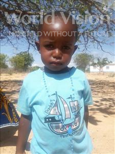 Choose a child to sponsor, like this little boy from Kilimatinde, Pascal Boniphace age 3