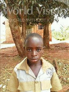 Choose a child to sponsor, like this little boy from Kibiga-Mulagi, John age 9