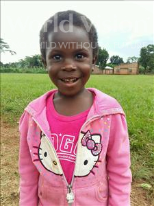 Choose a child to sponsor, like this little girl from Kibiga-Mulagi, Ramlah age 5