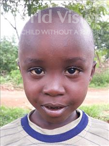 Choose a child to sponsor, like this little boy from Busitema, Marvin age 5