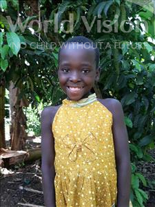 Choose a child to sponsor, like this little girl from Ntwetwe, Dolos age 6