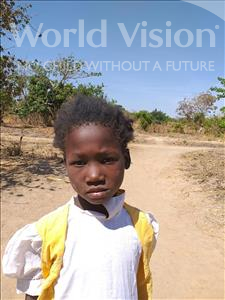 Choose a child to sponsor, like this little girl from Keembe, Clodia age 8