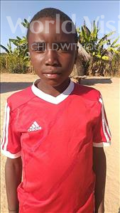 Choose a child to sponsor, like this little boy from Keembe, Lackment age 9