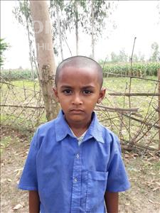 Choose a child to sponsor, like this little boy from Ghoraghat, Nahid age 6