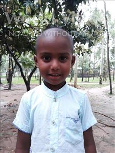 Jihad Jakibul, aged 4, from Bangladesh, is hoping for a World Vision sponsor