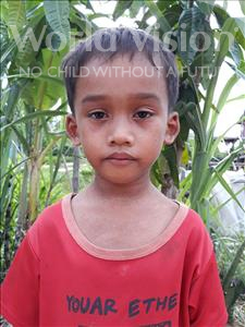 Rithy, aged 9, from Cambodia, is hoping for a World Vision sponsor