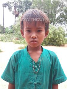 Tun, aged 9, from Cambodia, is hoping for a World Vision sponsor