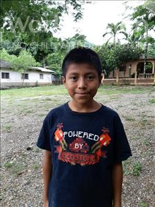 Leonel, aged 12, from Honduras, is hoping for a World Vision sponsor