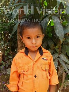 Choose a child to sponsor, like this little boy from Maya, Erick Alejandro age 5