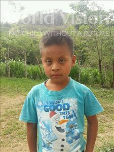 Choose a child to sponsor, like this little boy from Maya, Jose Estuardo age 7